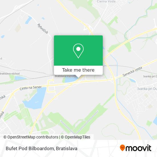 Bufet Pod Bilboardom map