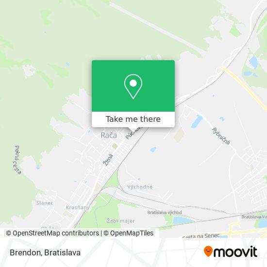 Brendon map