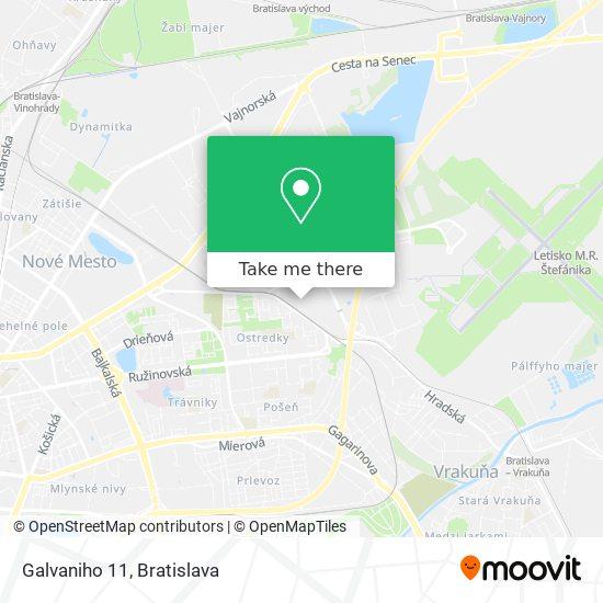 Galvaniho 11 map