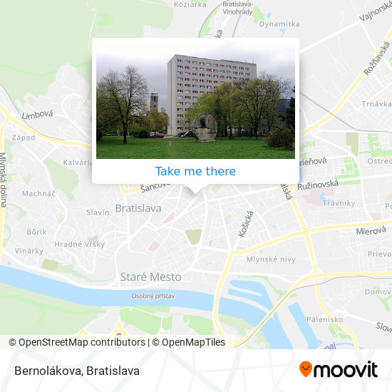 Bernolákova map