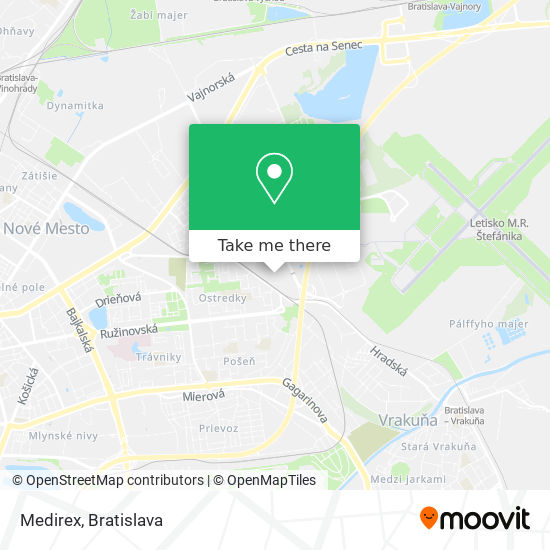 Medirex map