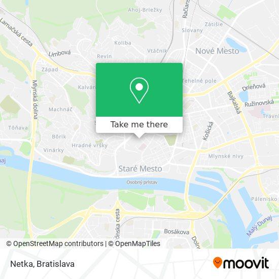 Netka map