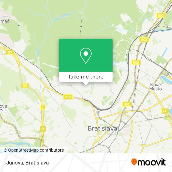 Junova map