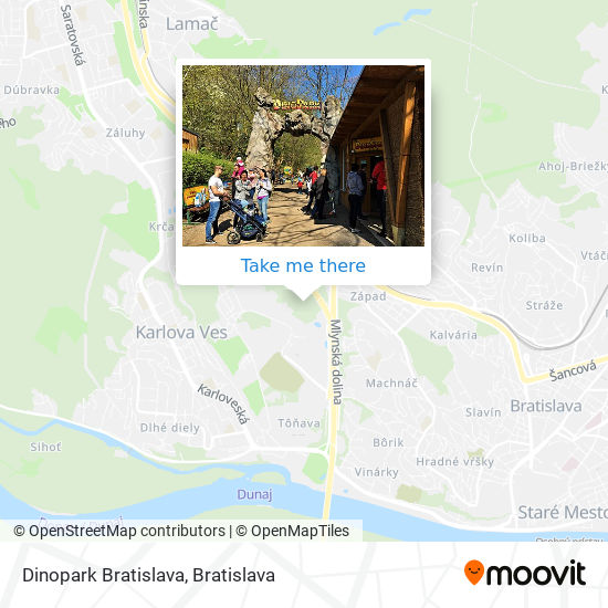 Dinopark map