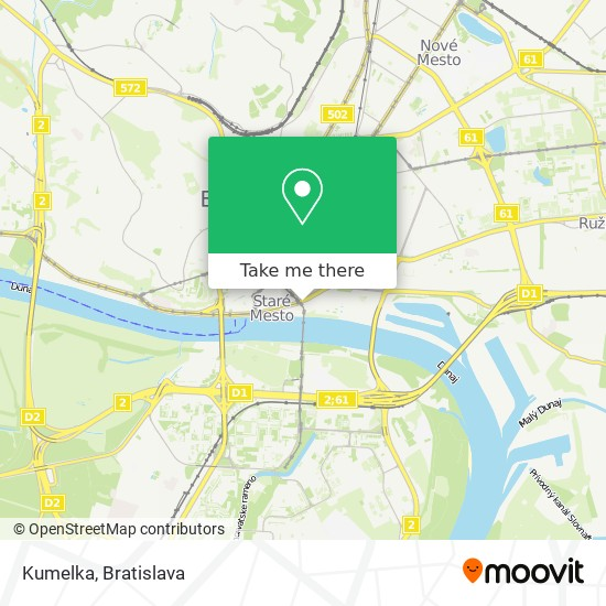 Kumelka map