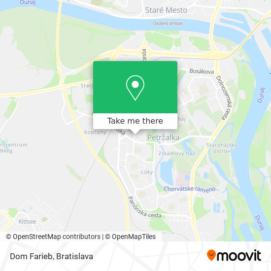 Farby Laky map