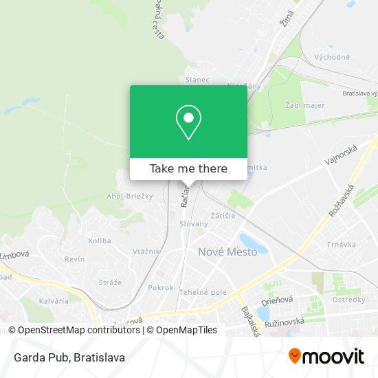 Garda Pub map