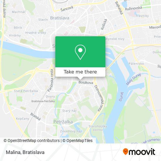 Malina map