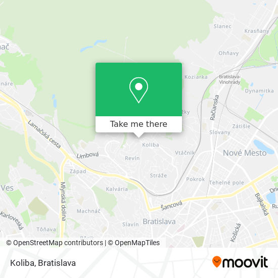 Koliba map