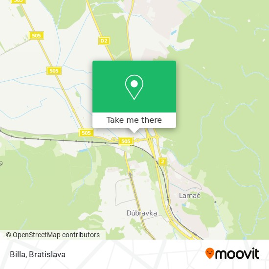 Billa map