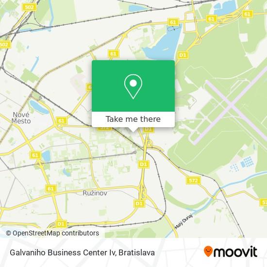Galvaniho Business Center Iv map
