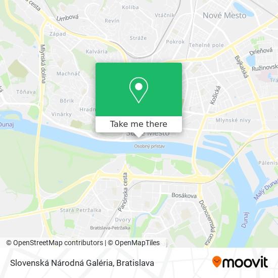 Slovenská Národná Galéria map