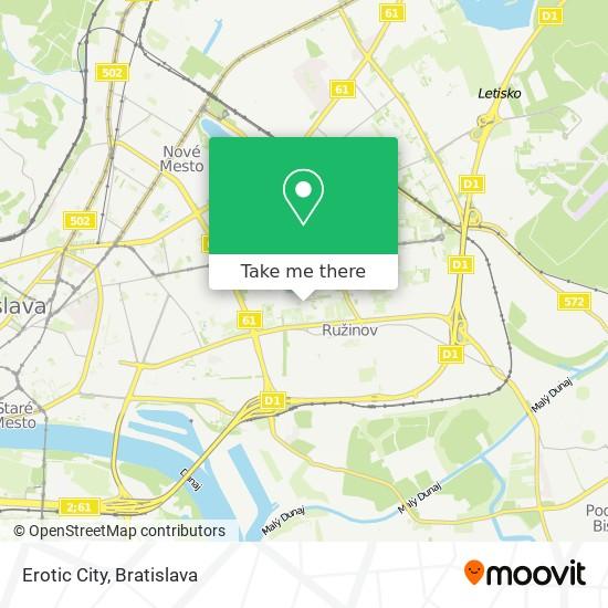 Erotic City map