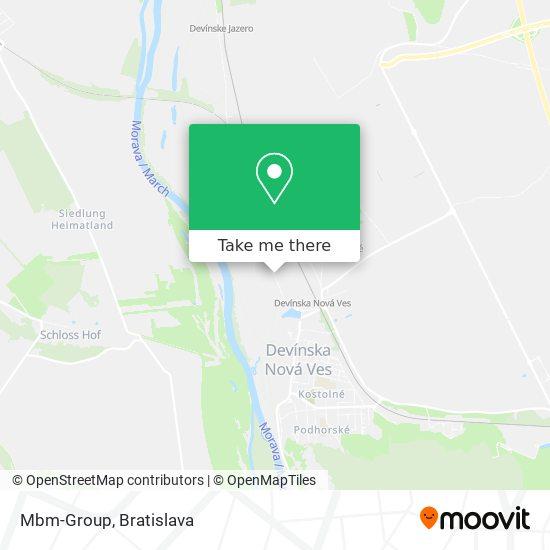 Mbm-Group map