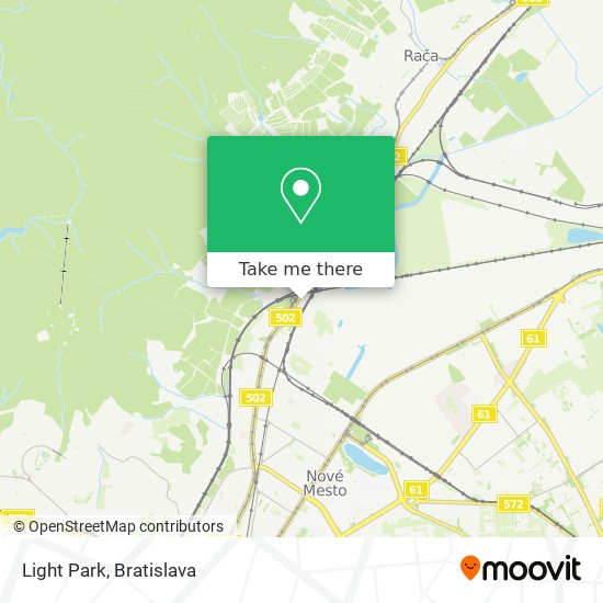 Light Park map