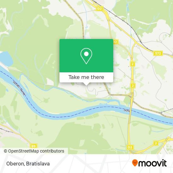 Oberon map
