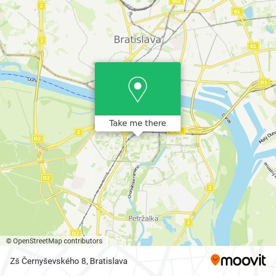 Zš Černyševského 8 map