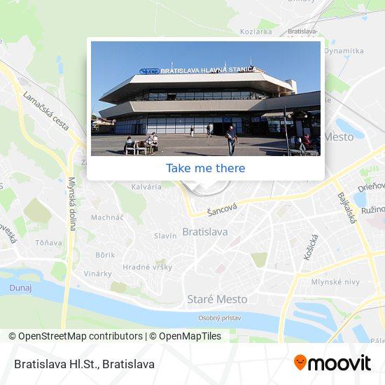 Nástupište 2 map