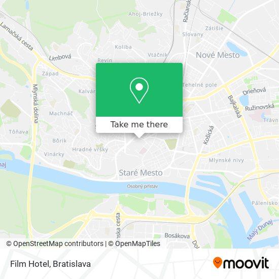 Film Hotel map
