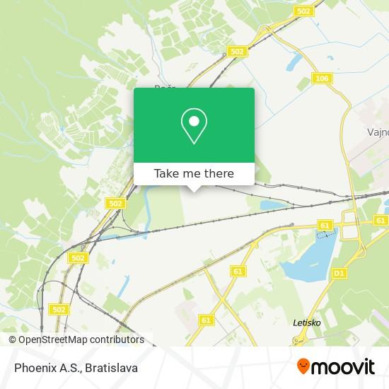 Phoenix A.S. map