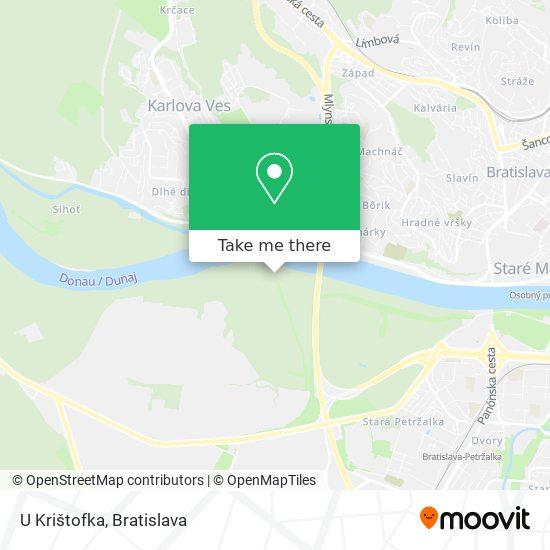 U Krištofka map