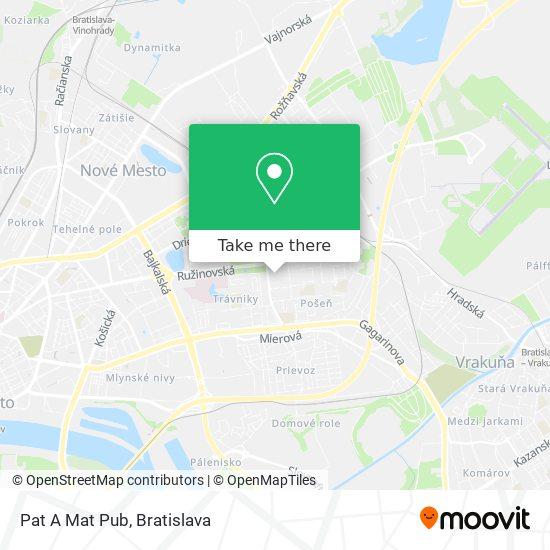 Pat A Mat Pub map