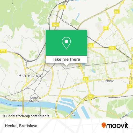 Henkel map