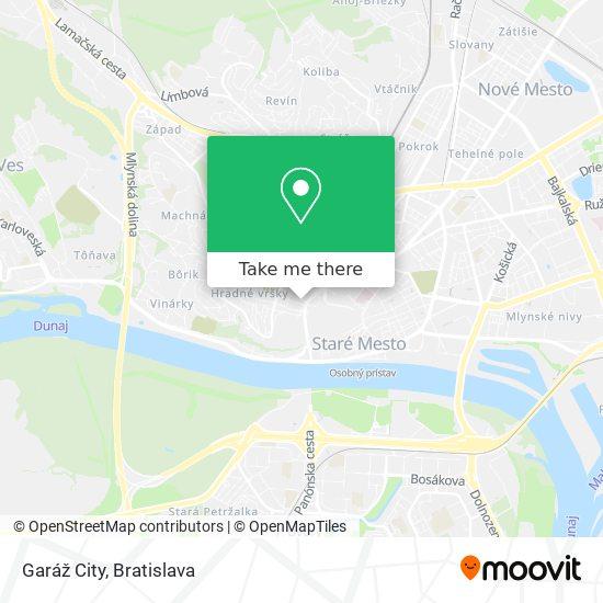 Garáž City map