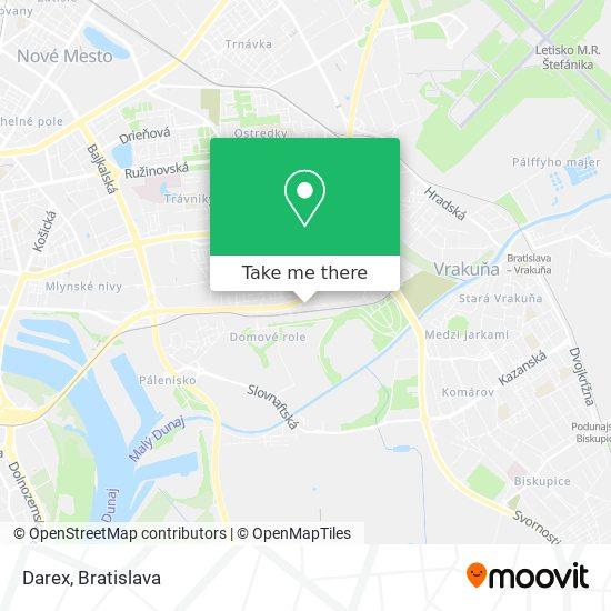 Darex map