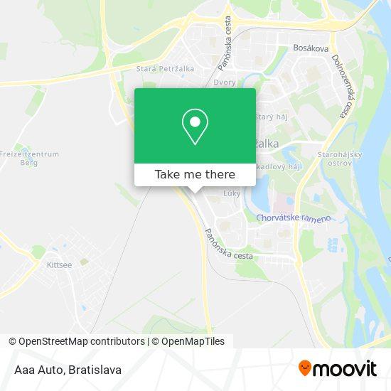Aaa Auto map