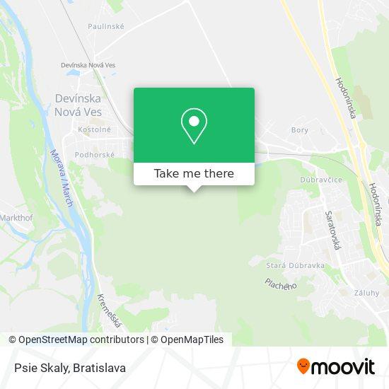 Psie Skaly map
