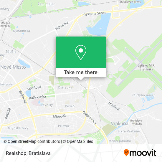 Realshop map