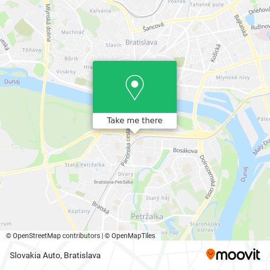 Slovakia Auto map