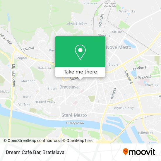 Dream Café Bar map