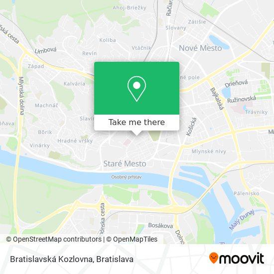U Dvoch Levov map