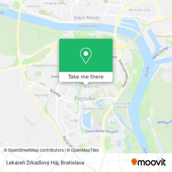 Lekáreň Schneider Zrkadlový Háj map