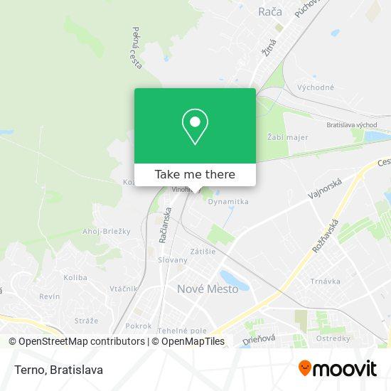 Terno map