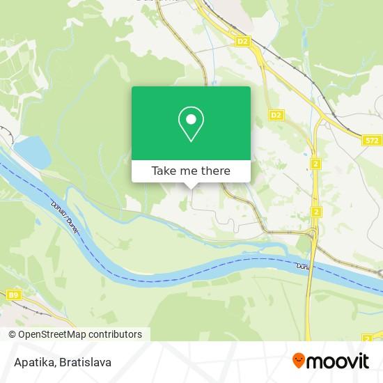 Apatika map