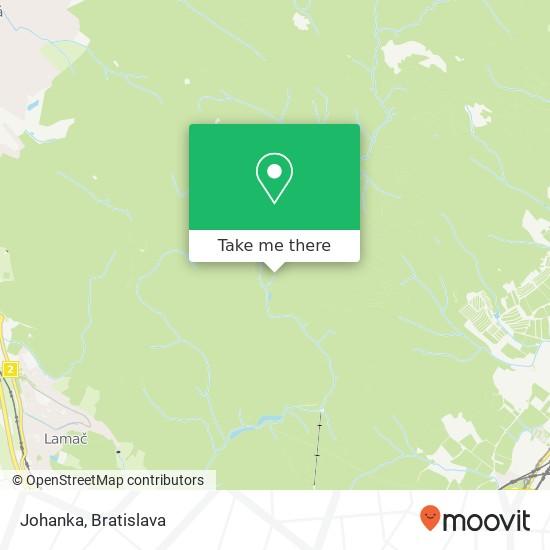 Johanka mapa