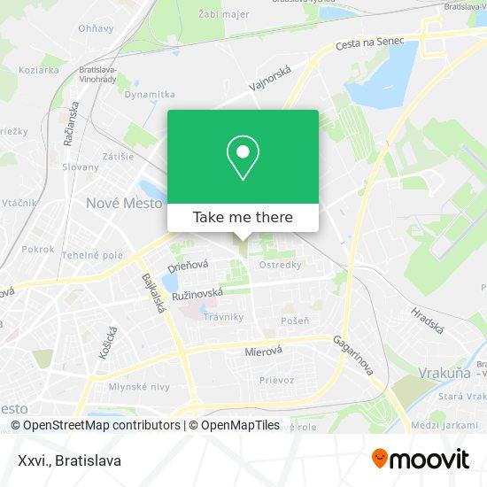 Xxvi. map