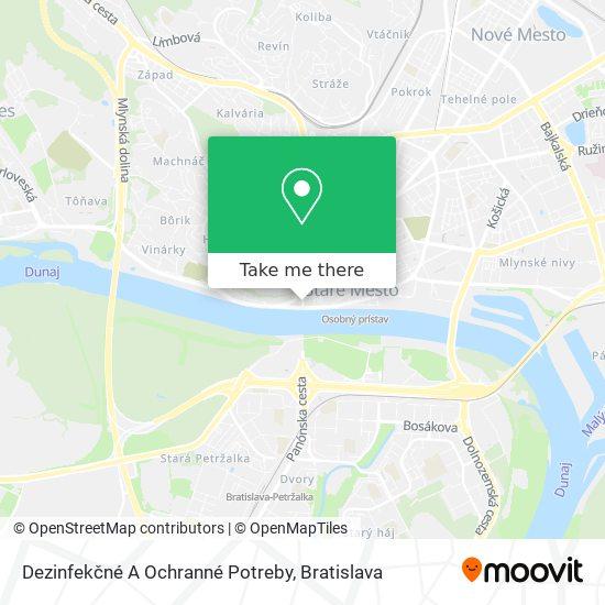 Záložňa Nonstop map