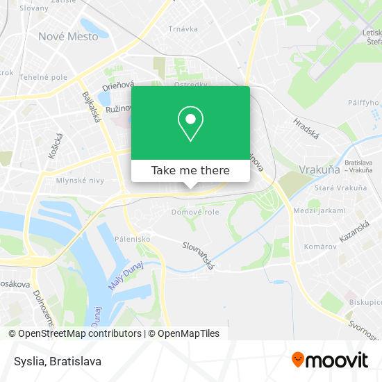 Syslia map