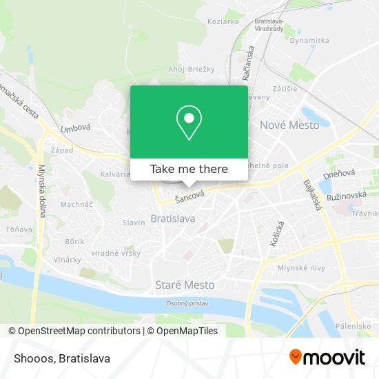 Shooos map