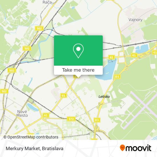 Merkury Market map