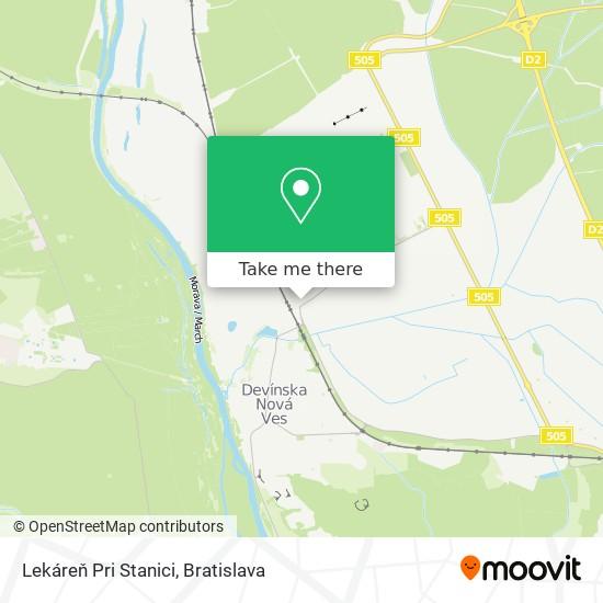 Lekáreň Pri Stanici map