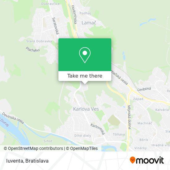 Iuventa map