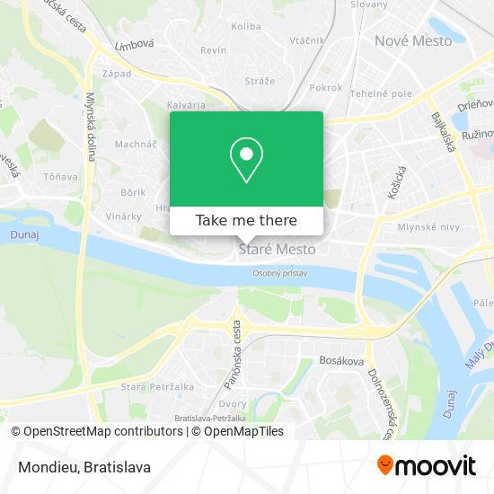 Mondieu map