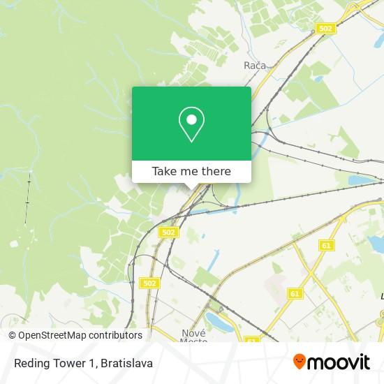 Reding Tower 1 map