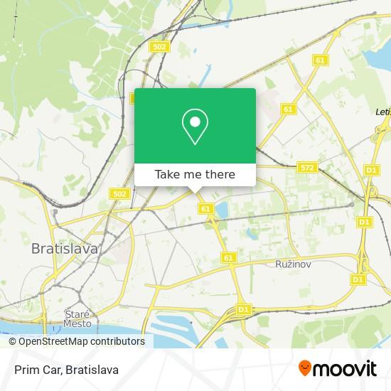 Prim Car map