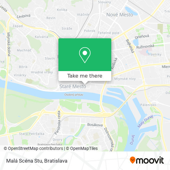 Malá Scéna Stu map